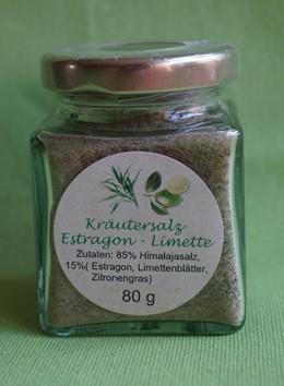 Kräutersalz Estragon-Limette