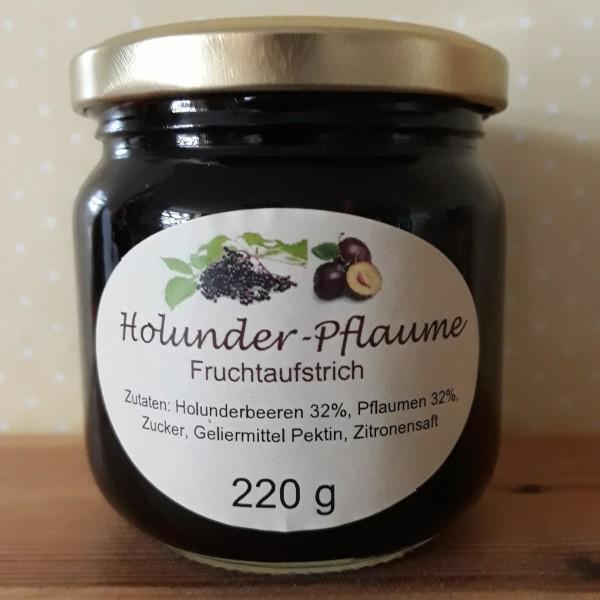 Fruchtaufstrich Holunder - Pflaume