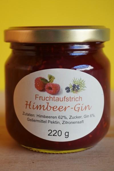 Fruchtaufstrich Himbeer Gin