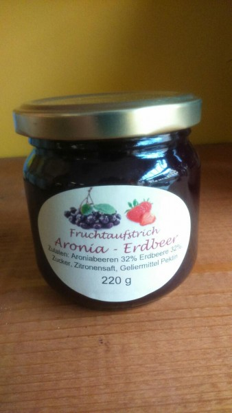 Fruchtaufstrich Aronia - Erdbeer