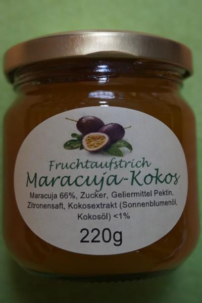 Fruchtaufstrich Maracuja - Kokos