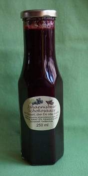 Johannisbeer-Schoko-Sauce