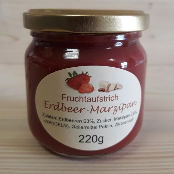 Fruchtaufstrich Erdbeer - Marzipan