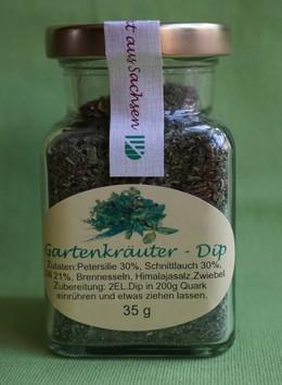 Gartenkräuter Dip (Trockenprodukt)